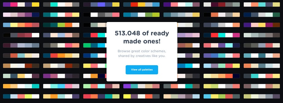 How to design a travel website color scheme - generator