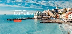 How to design website color scheme - bobo travel