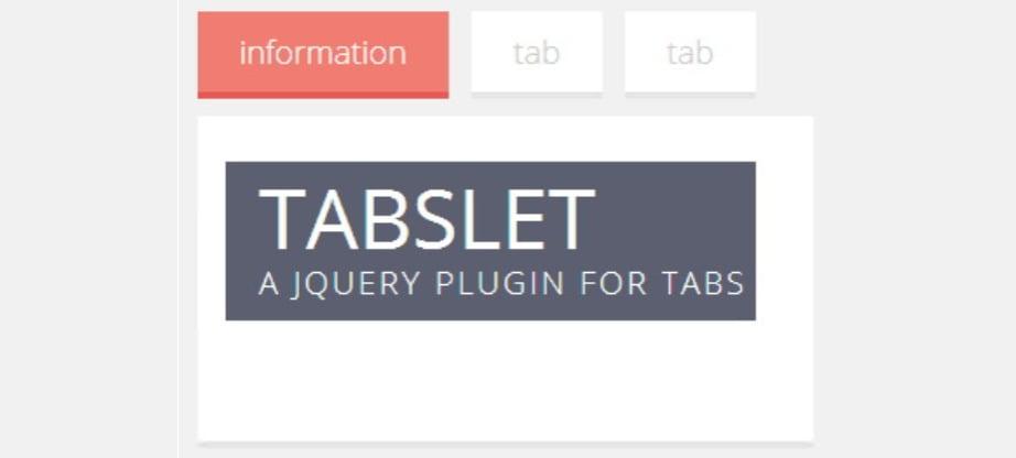jQuery plugin tutorial - tabslet