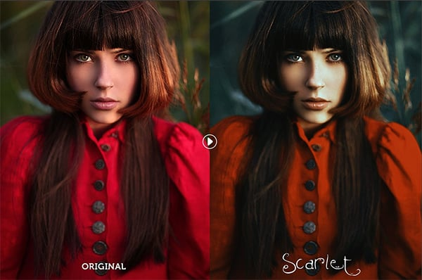 Photoshop Actions for Retro & Vintage Effects