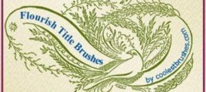Flourish Title Brushes