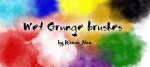 Wet Grungy Brushes