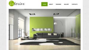 Interior Design Art Responsive Website Template