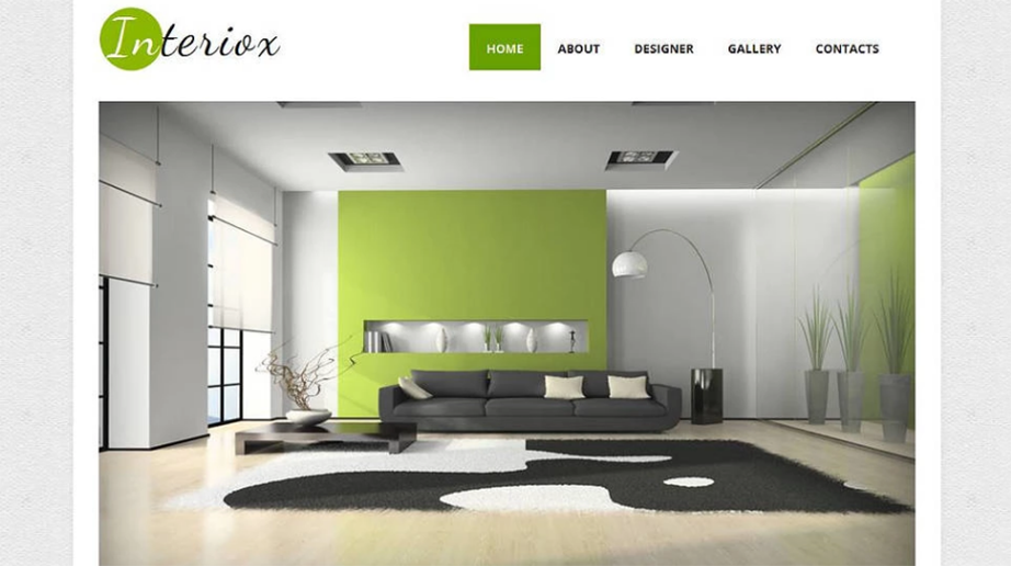 Interior Design Art Responsive Website Template