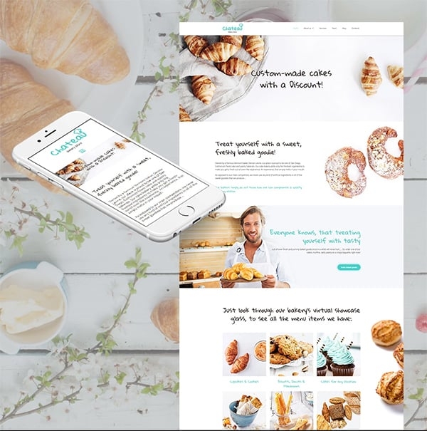Madeleine Responsive Website Template