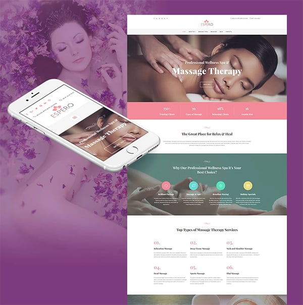 Espero Responsive Website Template