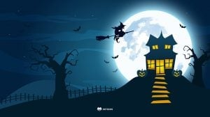 Creepy House Wallpaper by MotoCMS