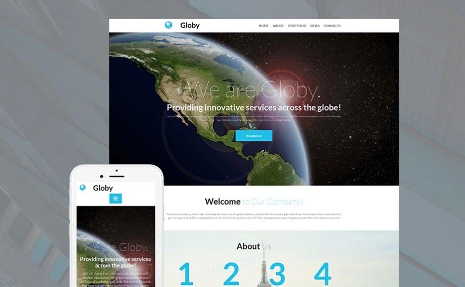 Globy MotoCMS Templates