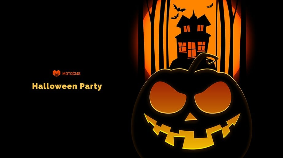 Halloween Party Wallpaper by MotoCMS