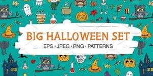 Big Halloween Websites Set