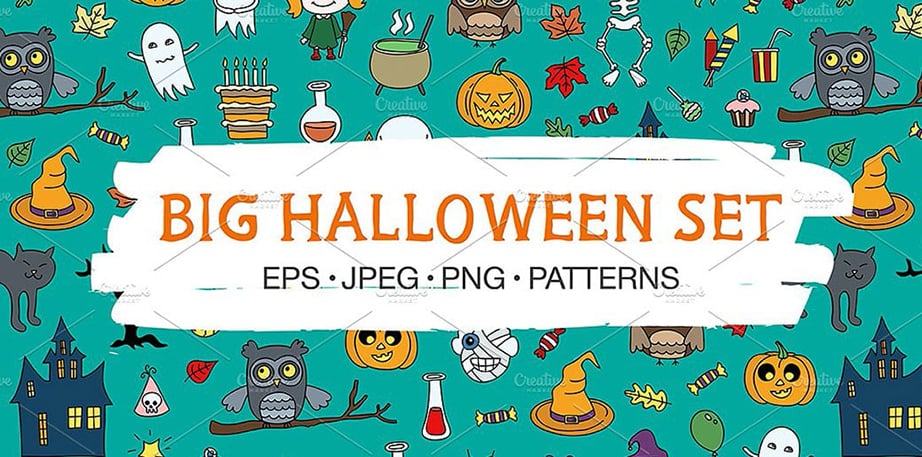 Big Halloween Websites Set