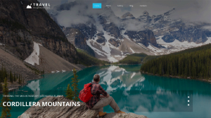 Travelling HTML Website Template