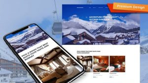 Mountainking Responsive Website Template
