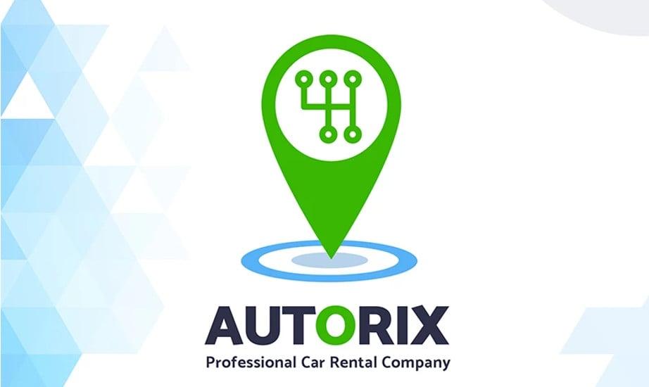 Professional Car Rental Company Logo Template