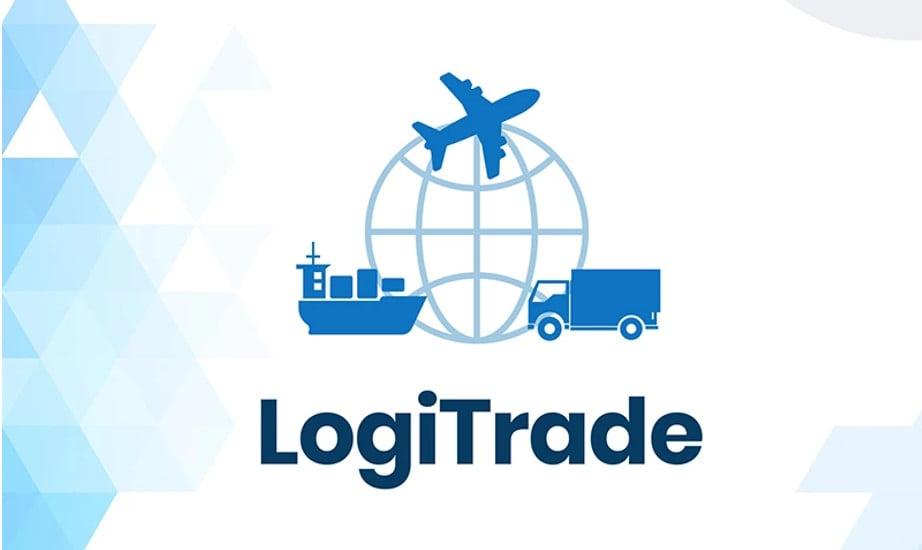 International Transportation and Logistics Company Business logo