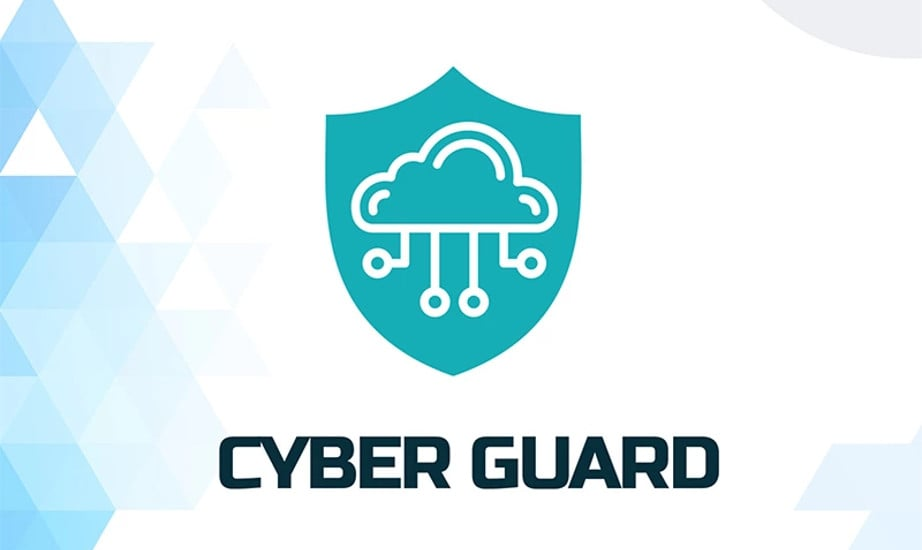 IT Cyber Security Company Business Logo