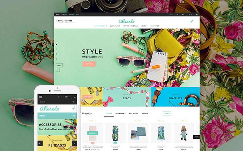 Gifts Shop Responsive PrestaShop Theme