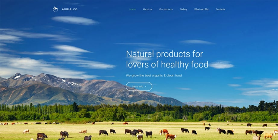 Agrialco Website Template
