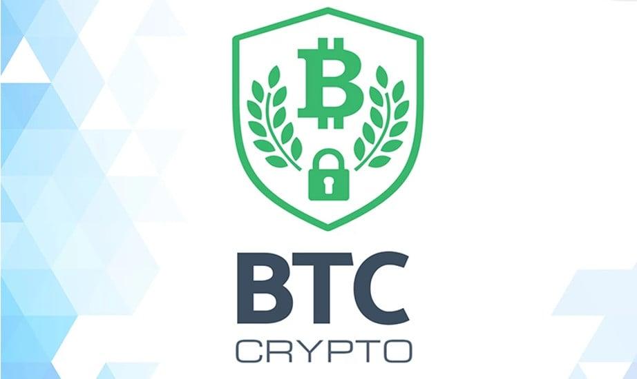Bitcoin Trading Company Business Logo