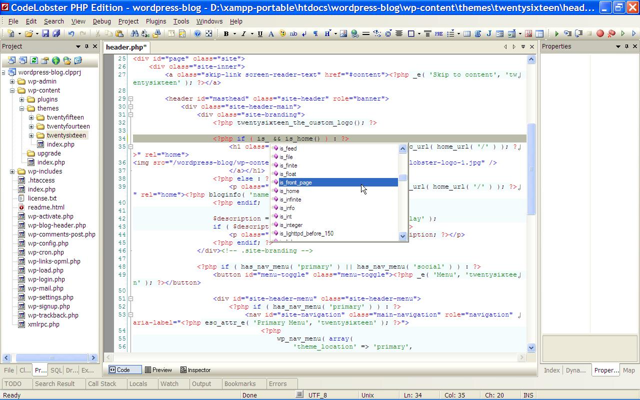 Codelobster PHP Edition 1