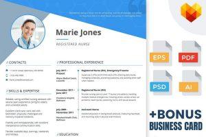 resume templates nurse image