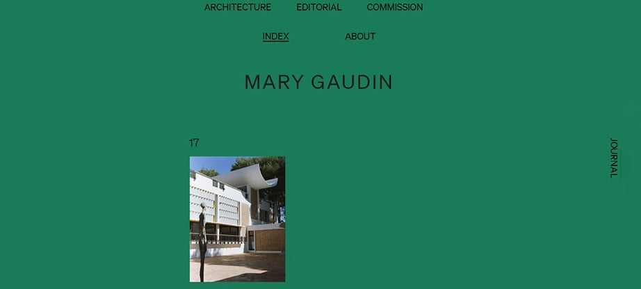 Mary Gaudin's online portfolio