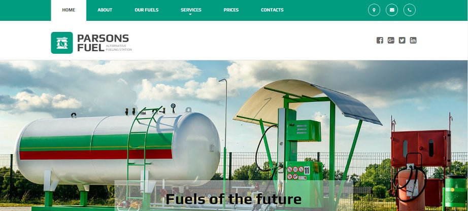 Parsons Fuel Industrial Theme