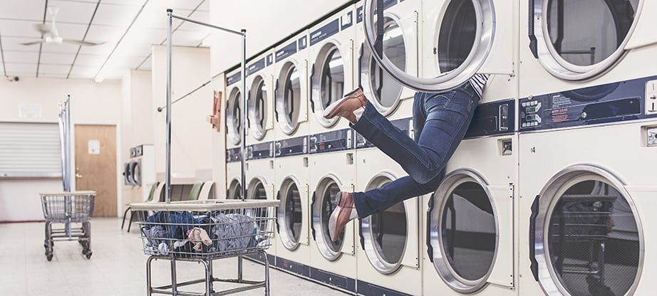 laundry website design featured image