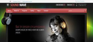Internet Radio Station radio website design