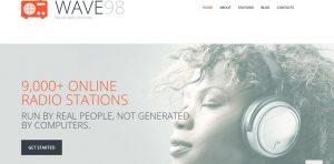 Radio Media Responsive radio website design