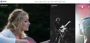 Pulse radio website design