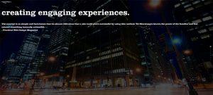 web design trends 2018 - video background