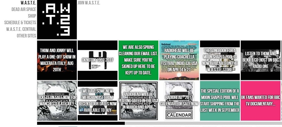 W.A.S.T.E. Headquarters website