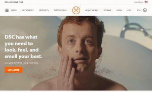 experimental Website Header Design image