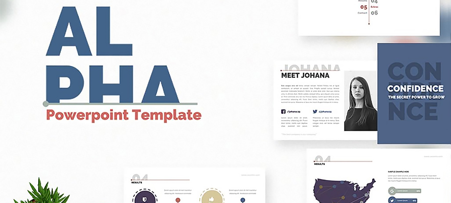 Alpha Presentation PowerPoint Template