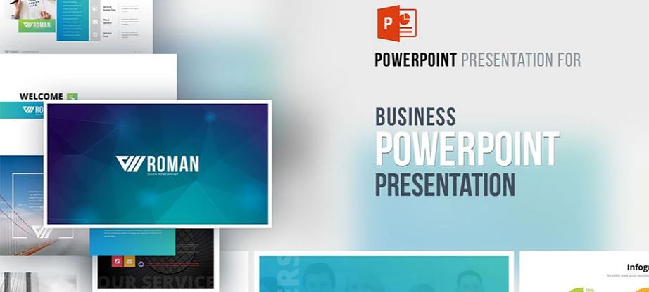 RomanSeven PowerPoint Template