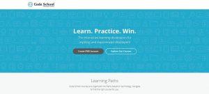 Code School of web design image