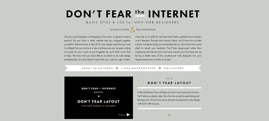 Don't Fear The Internet course image