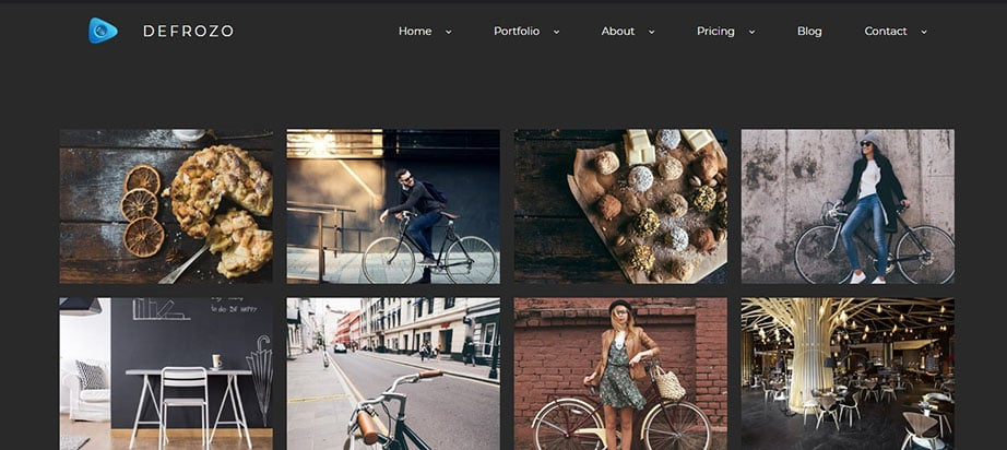 PSD to WordPress conversion portfolio image