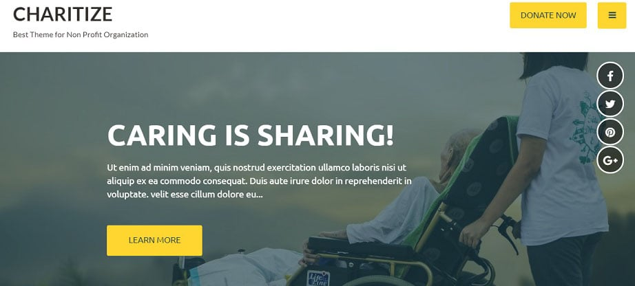 Free Web Templates for Charity Websites that Make the World Better