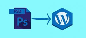 PSD to WordPress conversion main image