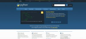 best programming language for mobile apps python image