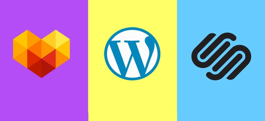 squarespace vs wordpress vs motocms main image