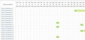 hotel theme wordpress calendar