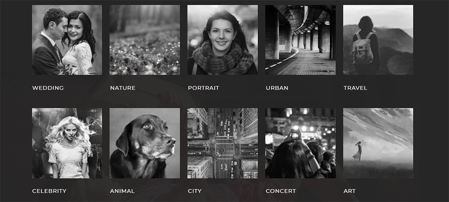 Defrozo Photography Portfolio Theme