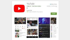 YouTube social networking apps image