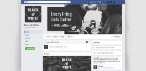 cofe shop creative facebook cover