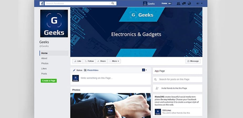 electronics cover photos for facebook timeline free download
