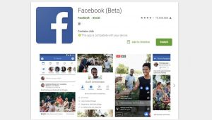 facebook social networking apps image
