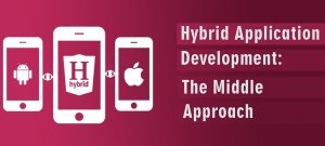 hybrid app development approach image